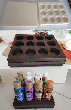 Support de Peintures (polystyrène) Styrofoam