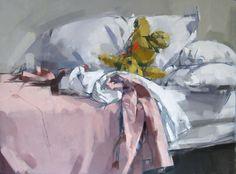 Maggie Siner | Tossed. Oil on LInen