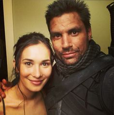 Arrow - Celina Jade & Manu Bennett - Shado and Slade