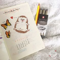 #hedgehog #ježek #butterflies #motyli #april #duben #pigmamicron #leuchtturm1917 #leuchtturm #kores #koreskolores #bulletjournal #yellow #orange #mywork #ideas #cute #animals #2021 #bulletjournalideas #drawing #illustration #mina #minagraphicdesign #graphicdesign #graphicart