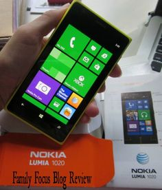 Family Focus Blog is giving away this Nokia 1020 smartphone and I'm not going to share this with anyone.