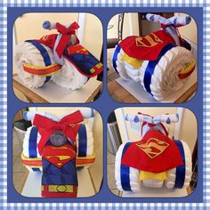 Couche à couches Superman Tricycle . - stuff I like - Makeup Ideen Superman Baby Shower, Marvel Baby Shower, Superhero Baby Shower, Baby Shower Brunch, Baby Shower Parties, Baby Shower Themes, Baby Boy Shower, Shower Ideas, Regalo Baby Shower