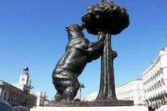 El oso y el madroño, La Puerta del Sol, Madrid