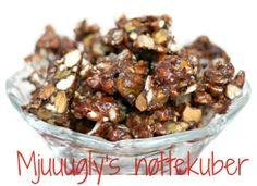 Mjuuugly's uimotståelige nøttekuber (sukkerfrie!)