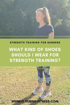 #flourishfitness What kind of shoes should I wear for strength training? | Can I wear the same shoes for running and strength training? Nope - click to learn what you want in a strength training shoe to avoid injury. #strengthtraining #strengthtrainingshoes Strength Training For Runners, Strength Workout, Running Tips, Beginner Running, Running Shoes, Jogging For Beginners, Running Injuries, Daily Exercise Routines, Running Motivation