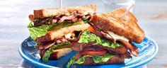 BLT - bacon, lettuce, tomato - er en kjempepopulær sandwich. Og en fullverdig middagsløsning for den som er i farta.