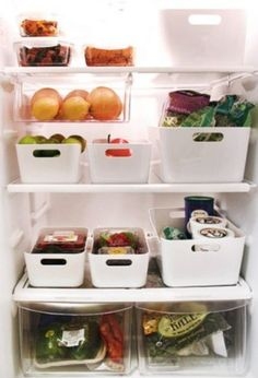Perfect Fridge Organization. #ShopStyle #shopthelook #HomeOrganization #KitchenOrganization #ad