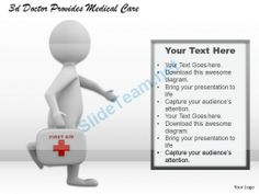 1013 3D Doctor Provides Medical Care Ppt Graphics Icons Powerpoint #Powerpoint #Templates #Infographics