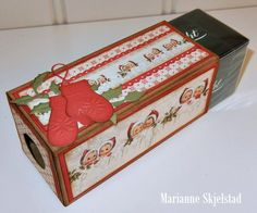 Christmas chocolate. Paper collection: Christmas in Norway