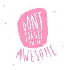 Feel Good Friday Typography | Zana