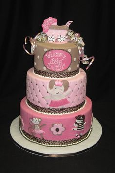 baby shower cake by Sweet Beginnings