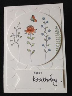 Birthday Field of Flowers by tealeaf1 - Cards and Paper Crafts at Splitcoaststampers