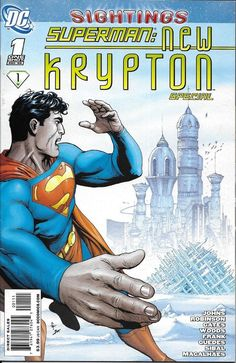 Superman: New Krypton # 1 DC Comics One-Shot Special Superman News, Superman Family, Superman Comic, Batman, Rare Comic Books, Comic Books For Sale, Comic Book Covers, Dc Comics, Action Comics 1