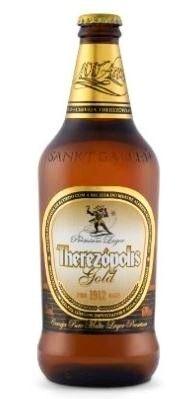 Cerveja Therezópolis Gold - Cervejaria Sankt Gallen