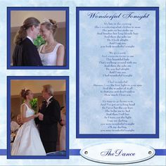 Think may do this with lyrics from our first dance...