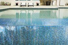 Cool Inspiring Swimming Pool Tile Design: Stunning Glass Blox Tile Pool Glassa And Tile Pool And Spa ~ loopclimb.com Swiming Pool Inspiration