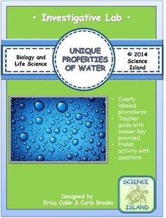 3 unique properties of water essay