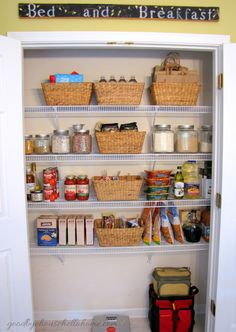 goodbye, house. Hello, Home! Homemaking, Interior Design Blog, Staging, DIY: My Pantry Organized (You May Not Be Surprised)