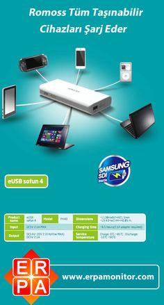 Romoss ile Tüm Taşınabilir Cihazlarınızı Şarj Edin !  https://www.facebook.com/ERPA.Kurumsal   I #sarj #batarya #adaptor #pil #sarjsorunu #sarjaleti #bilgisayar #notebook #dizustu #laptop #elektronik #teknoloji #haber #haberler