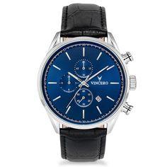 Men's Chronograph Blue Watch