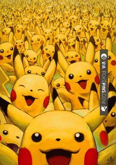 Love this - by Ry-Spirit | CHECK OUT MORE pikachu PHOTOS AT POKEPINS.COM | #pokemon #gottacatchemall #pikachu #charmander #squirtle #bulbasaur #ferokie #haunter #garydos #mew #mewtwo #shiny #teamrocket #teammagma #ash #misty #brock