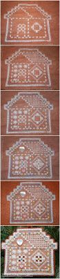 hardanger gingerbread house