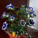 Цветы из бисера Морозовой Тамары (Часть 2) | Бисер и Я