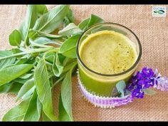 Succo Verde N. 5 - Clorofilla: Lattuga e Salvia - Veg Raw Food   #raw #rawfood #crudismo #crudo #juice #juices #nature