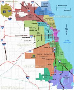nice Chicago Miracle Mile Shopping Map Printable Chicago Tourist