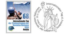 International Day of UN Peacekeepers a Joint stamp Issue with Austria