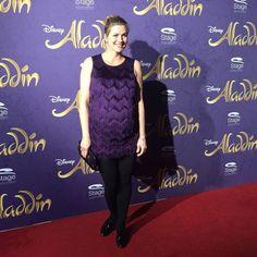 Schauspielerin Nina Bott auf der Premiere von Disneys #Aladdin #AladdinHamburg