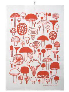 Sienet Keittiöpyyhe