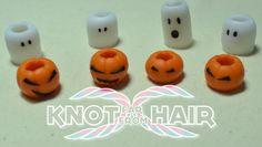 Halloween dreadlock beads on Etsy, £6.00