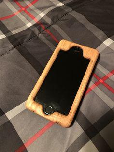 Oak/Walnut iPhone case