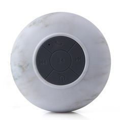 Mini Waterproof Stereo Wireless Bluetooth Speaker Handsfree with Suction Cup Marble. Features 100% Brand New and High Quality Stereo Audio OutputCan be use as a waterproof spearker in the shower room (Do not drop the speaker into the water!)Built-in Microphone, very convenient to useEnjoy hands-free phone calls and music in the car, making your driving or trip more elegant and saferCan be used as a holder and offer you a nice and comfortable angle to use your devicesConvenient buttons for...