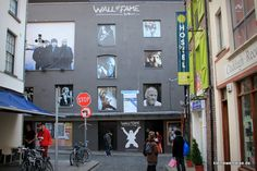 Wall of Fame in Temple Bar, Dublin, Ireland