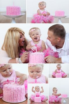 Oh Laura, such a beautiful family! Love this for a 1st birthday!