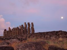 Easter Island, or Rapa Nui, boasts stupendous nature and enigmatic stone statues.