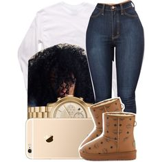 A fashion look from December 2016 featuring MCM ankle booties and Michael Kors watches. Browse and shop related looks.
