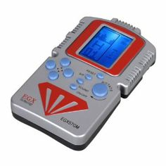 EGX Egx57gm Classic Tetris Game Console LCD Blue Backlight by EGX. $7.99. LCD display. Material: Plastic. Enables you to enjoy yourselves at anytime, anywhere. Please pay attention that batteries are not included. Nice gift to children.. Features of Handheld Game Console: LCD display  Enables you to enjoy yourselves at anytime, anywhere  Battery: 2 x AA Batteries (not include)  Material: Plastic  Color: Silver & red, as photo shows.  Dimension: 7 x 12 x 2 cm  Net w...