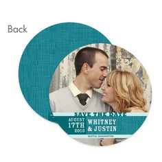 circle save the date cards are fun!
