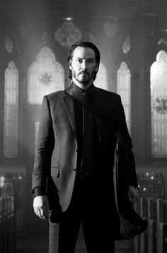 Keanu Reeves as John wick. directed by david leitch and chad stahelski (2014)