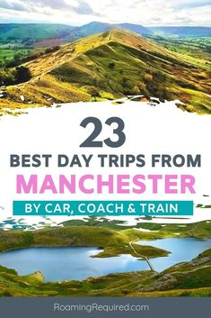 Explore more of the UK with one of these great day trips from Manchester. English countryside with quaint villages, historic landmarks, castles & more.  Best day trips from Manchester by train | Best day trips from Manchester by car | Best day trips from Manchester by coach | Best day trips from Manchester | Best places to visit near Manchester | Best things to do near Manchester | Day trips from Manchester | Manchester Day Trips #Manchester #daytrips #travel #iRoamToo #RoamingRequired Europe On A Budget, Budget Travel, Manchester Day, Cool Places To Visit, Places To Go, Travel Guides, Travel Tips, British Travel, Things To Do In London