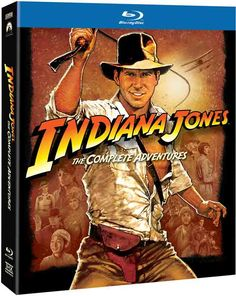 2012 FINALLY brought us Indiana Jones: The Complete Adventures on Blu-Ray!!