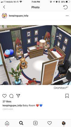 Sims Freeplay Cheats, Casas The Sims Freeplay, Sims Freeplay Houses, Sims Free Play, Sims House Design, Sims House Plans, Sims 4 Build, My Sims, House Interiors