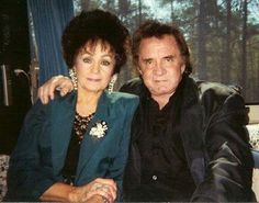 Johnny and Joanne Cash 1994