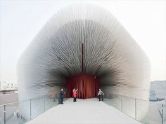 "Thomas Heatherwick shares 5 ingenious, ambitious projects, including the ""Seed Cathedral."" in this TED Talk."