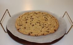 Giant Chocolate Chip Cookie Cake Recipe