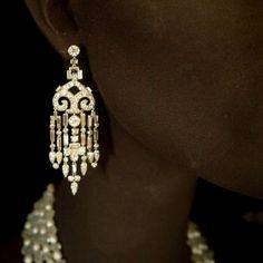 100 Years of Fashion _ Cartier earrings  1920's