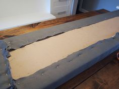 DIY Upholstered Banquette Seat